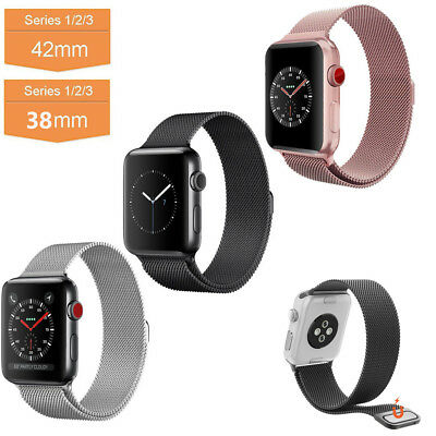 Bracelet Pour Apple Watch iWatch Band Acier Inoxydable Strap Wrist Band 38 /42mm