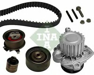 Pompa acqua + Kit distribuzione INA 530040530 AUDI CHRYSLER DODGE JEEP MITSUBISH