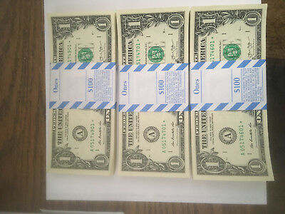 United States Currency Star Note Bundles-2013-A-Boston District-Low Printing