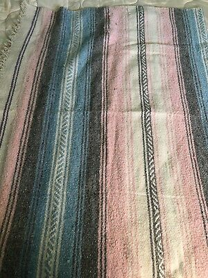 """Woven Rug/Blanket Approximately 52"""" x 72"""""""