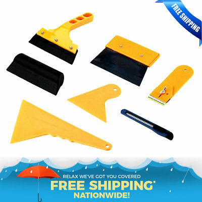 Vinyl Wrap Tool Kit for Car Craft Vinyl Film Application Squeegee Magnets New FG