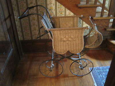 Antique Victorian Baby/Doll Carriage All Original