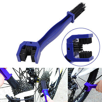 Bicycle Chain Clean Brush Bike Cycling Gear Grunge Cleaner Outdoor Scrubber Tool