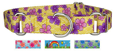 Country Brook Petz® Martingale Dog Collar - Easter Collection