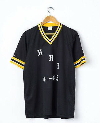0 MAJESTIC Youth Baseball Jersey in Black Size XL Kids Boys Sports T-Shirt Top