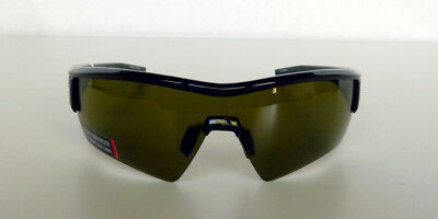 da9636ff76e3 New Under Armour Fire Sunglasses Shiny Black Frame w/ Black Rubber/Game Day  Lens