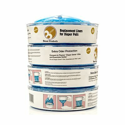 Diaper Genie Refill Bags - 1120 Count Up to 6 Month Supply of Diaper Pail Lin...