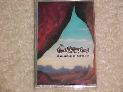 RARE - Factory Sealed - Amazing Grace by Chuck Wagon Gang (Cassette, 1993)