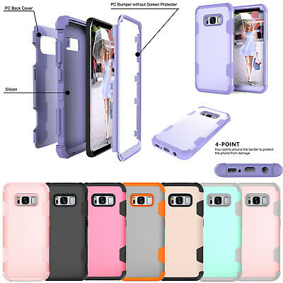 For Samsung Galaxy Note 9 S9 Shockproof Armor Hybrid Heavy Duty Hard Case Cover