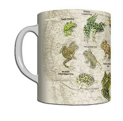 Frogs of North America 11 OZ. Ceramic Coffee Mug or Tea Cup