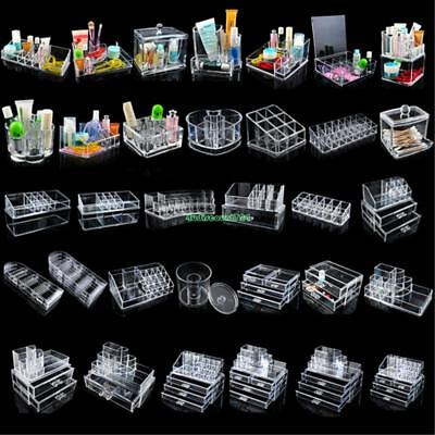 Cosmetic Organizer Makeup Box Case Acrylic Drawer Holders For Jewelry Storage