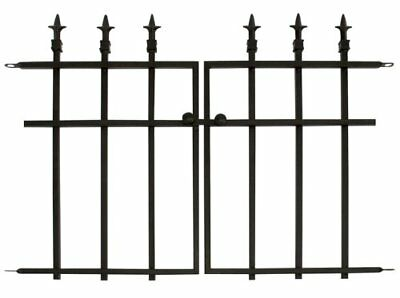OpenBox Panacea Products Classic Finial Gate, Black