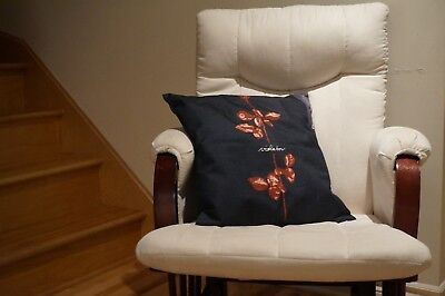 DEPECHE MODE Violator Album Cover Art Pillow Cushion Case 17x17 Cotton Linen NEW