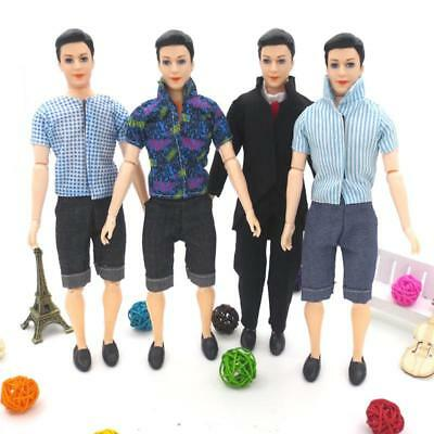 Handmade T shirt And Pants Clothes Outfit for Barbie Boyfriend Ken Doll YU