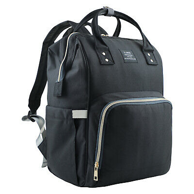 LEQUEEN Mommy Maternity Nappy Diaper Bag Large Capacity Baby Bag Travel Backpack