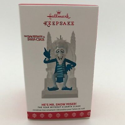 Hallmark 2017 He's Mr. Snow Miser! Ornament The Year without a Santa Claus