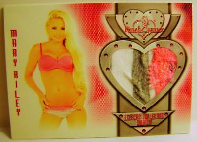 Mary Riley Bench Warmer Authentic Swatch 2014 #11 Eclectic Collection Rare