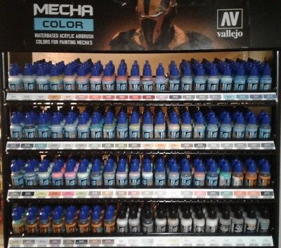 Vallejo MECHA COLOR acrylic paint set.