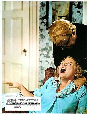 Rod STEIGER  Lee REMICK Georges SEGAL 12 french  L.C. NO A WAY TO TREAT A LADY