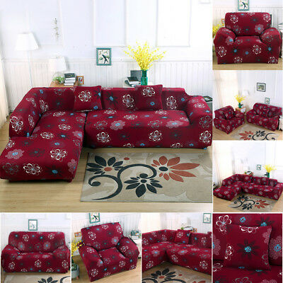 Stretch Chair Sofa Cover Protector Couch Cover Slipcover Fit For 1/2/3/4 Seater