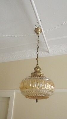 Vintage Pendant Style Ceiling Light - Chandelier - Mid-Century - Italy -