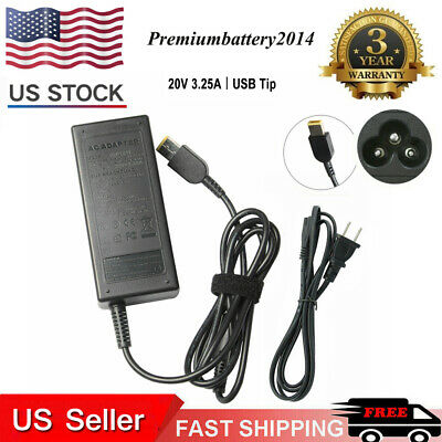 AC Adapter Power Charger for Lenovo Thinkpad E531 E431 T440S T440 3-pin