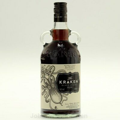 The Kraken Black Spiced Rum Der Hit aus USA 0,7 Ltr 40%