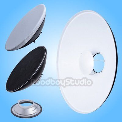 42cm 16'' White Honeycomb Beauty Dish Broncolor-B Mount (Speedring Changeable)
