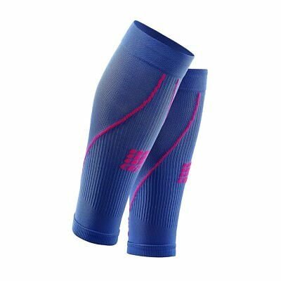 CEP Womens Progressive+ Compression Calf Sleeves 2.0, purple blue/pink, Size II