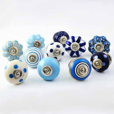 Casa Decor Pack of 25 Beautiful Ceramic Cabinet Drawer Dresser Knobs Pulls