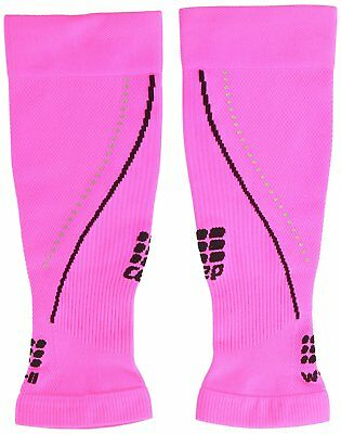 CEP Progressive+ Night Compression Calf Sleeves 2.0, Flash Pink/Black, Women, 3