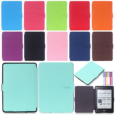 Magnetic Smart Leather Ultra Slim Case Cover For Amazon Kindle Paperwhite 1/2/3