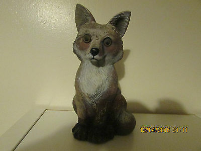 """FOX EXTRA THICK LATEX MOULD MOLD OF A FOX  7"""" tall"""