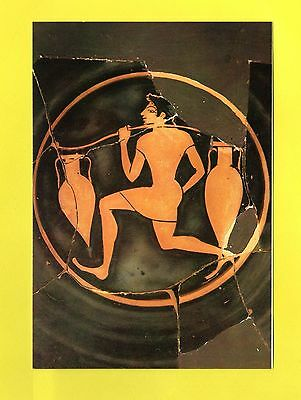 Attic red-figures cup by the Painte of Ancient Agora 520-510 B.C Greek Post Card