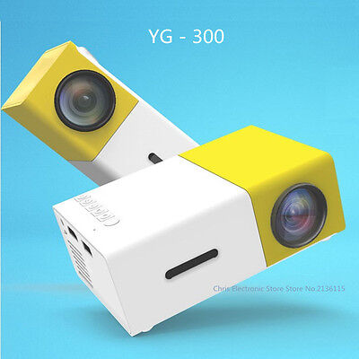 YG300 HD Projector Full HD Ultra Portable And Incredibly Bright New 2.0 Version