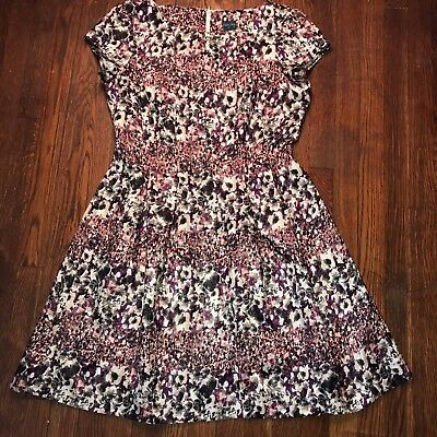 91a4f3e47e Gabby Skye Teal Multi Colored Floral Print Fit and Flare Dress Size 16 Pre  owned