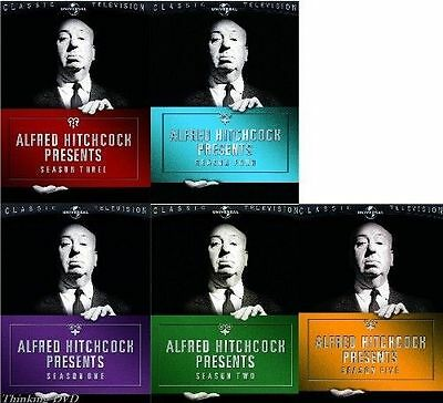 ALFRED HITCHCOCK PRESENTS SEASONS 1 2 3 4 5 22 DVD Set Series Box CBS Show TV R1