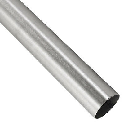 """304 Brushed Stainless Steel 1"""" OD 18 Gauge Tube"""