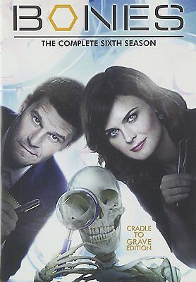 Bones Sixth 6th Season 6 Six DVD Set Complete Series TV Show David Boreanaz Box