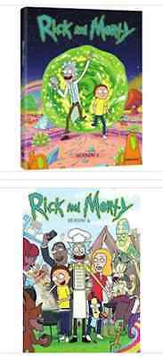 Rick and Morty Complete TV Series DVD Set Season 1 2 All Bundle Collection Show