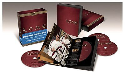 Rome Collection Complete Season Series TV Show Blu-ray Set Episodes Box HBO Lot