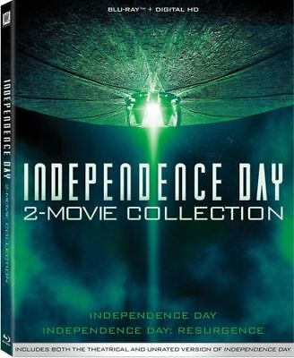 Independence Day 2 Movie Series Collection Resurgence BluRay Set Film 1 Complete