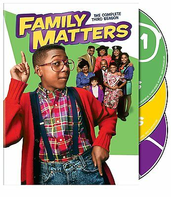 Family Matters Complete Third Season 3 Three DVD Set Series TV Show Comedy Video
