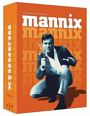 Mannix The Complete Series Collection DVD Set Episodes Season Vol Show All TV R1