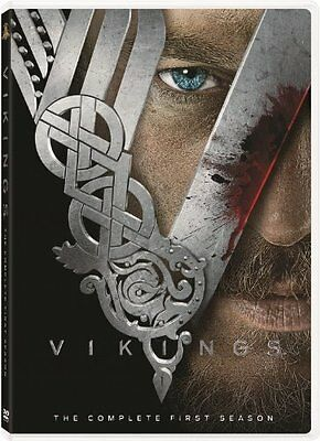 Vikings First 1st Season 1 One Complete DVD Set Series TV Show Episodes History