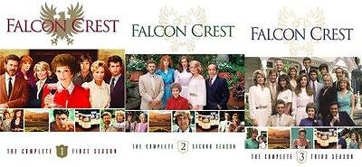 FALCON CREST Complete SEASON 1-3 DVD Set TV Series Show Collection Lot Episodes