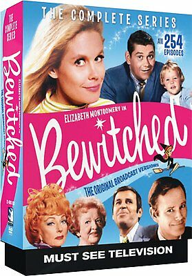 Bewitched Complete Season Series DVD Set Box TV Film Show Collection Episode Lot