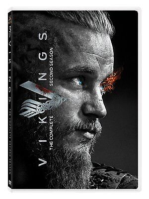 Vikings Second 2nd Season 2 Two Complete DVD Set Series TV Show Episodes History
