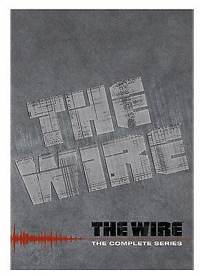 The Wire Complete Series Collection TV Show Episodes DVD Video Set Lot Season R1