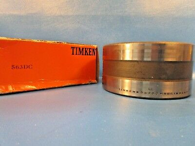 Timken 563DC Tapered Roller Bearing Double Cup w/ Hole for Locking Pin